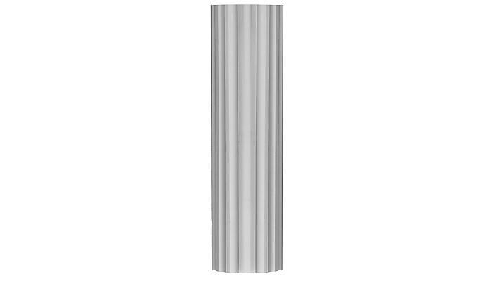Large Fluted Column